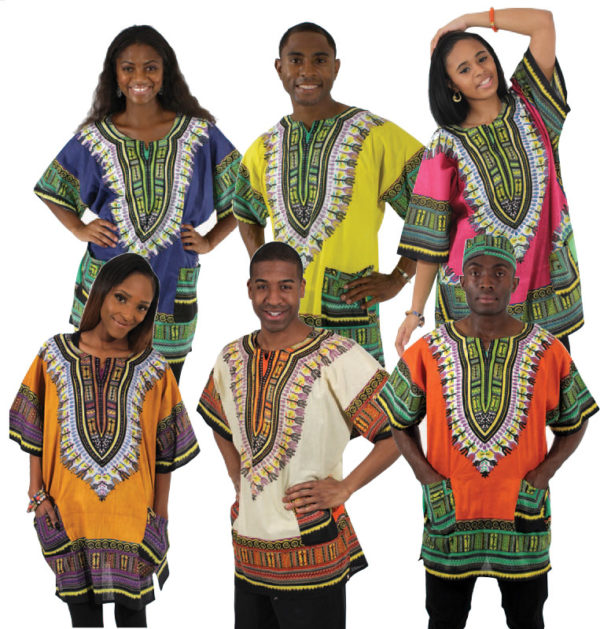 Best Traditional Dashiki- Assorted Sizea and Colors