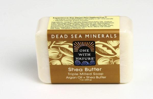 Shea Butter & Argan Oil Soap - 7 oz